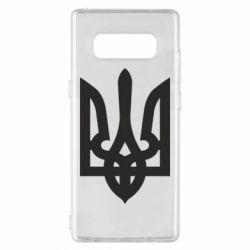 Чехол для Samsung Note 8 Жирный Герб Украины - FatLine