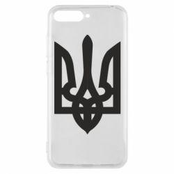 Чехол для Huawei Y6 2018 Жирный Герб Украины - FatLine