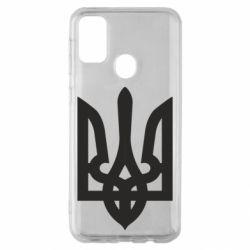 Чехол для Samsung M30s Жирный Герб Украины