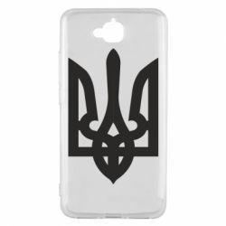 Чехол для Huawei Y6 Pro Жирный Герб Украины - FatLine