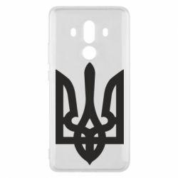 Чехол для Huawei Mate 10 Pro Жирный Герб Украины - FatLine