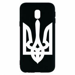 Чехол для Samsung J3 2017 Жирный Герб Украины - FatLine