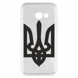 Чехол для Samsung A3 2017 Жирный Герб Украины - FatLine