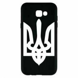 Чехол для Samsung A7 2017 Жирный Герб Украины - FatLine