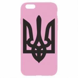 Чехол для iPhone 6/6S Жирный Герб Украины - FatLine