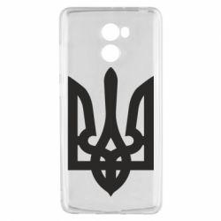 Чехол для Xiaomi Redmi 4 Жирный Герб Украины - FatLine