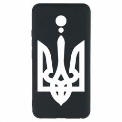 Чехол для Meizu M5 Жирный Герб Украины - FatLine