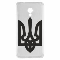 Чехол для Meizu M5s Жирный Герб Украины - FatLine
