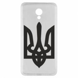 Чехол для Meizu M5 Note Жирный Герб Украины - FatLine