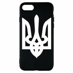 Чехол для iPhone 7 Жирный Герб Украины - FatLine