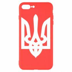 Чехол для iPhone 7 Plus Жирный Герб Украины - FatLine