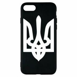 Чехол для iPhone 8 Жирный Герб Украины - FatLine
