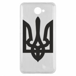Чехол для Huawei Y7 2017 Жирный Герб Украины - FatLine