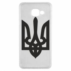 Чехол для Samsung A3 2016 Жирный Герб Украины - FatLine