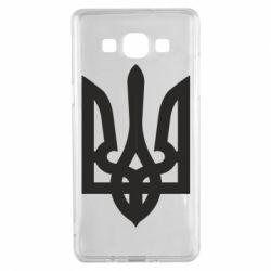 Чехол для Samsung A5 2015 Жирный Герб Украины - FatLine