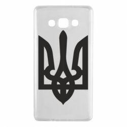 Чехол для Samsung A7 2015 Жирный Герб Украины - FatLine