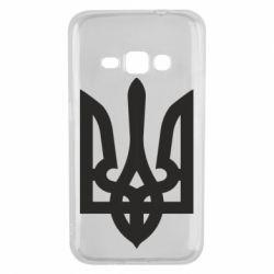 Чехол для Samsung J1 2016 Жирный Герб Украины - FatLine