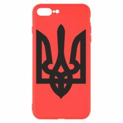 Чехол для iPhone 8 Plus Жирный Герб Украины - FatLine