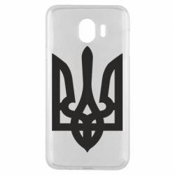 Чехол для Samsung J4 Жирный Герб Украины - FatLine