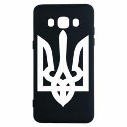 Чехол для Samsung J5 2016 Жирный Герб Украины - FatLine