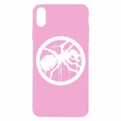 Чехол для iPhone X/Xs Жирный муравей