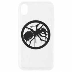 Чехол для iPhone XR Жирный муравей