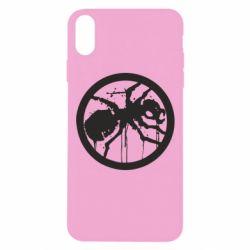 Чехол для iPhone Xs Max Жирный муравей