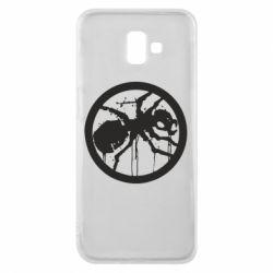 Чехол для Samsung J6 Plus 2018 Жирный муравей