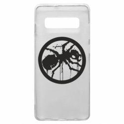 Чехол для Samsung S10+ Жирный муравей
