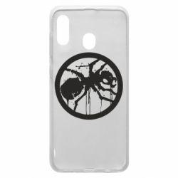 Чехол для Samsung A30 Жирный муравей