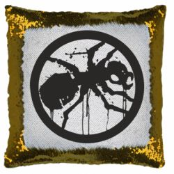 Подушка-хамелеон Жирный муравей