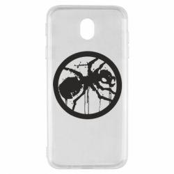 Чехол для Samsung J7 2017 Жирный муравей