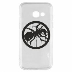 Чехол для Samsung A3 2017 Жирный муравей