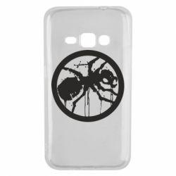 Чехол для Samsung J1 2016 Жирный муравей