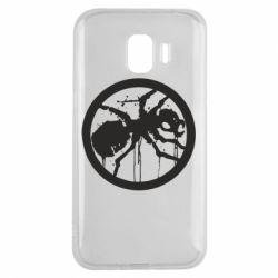 Чехол для Samsung J2 2018 Жирный муравей