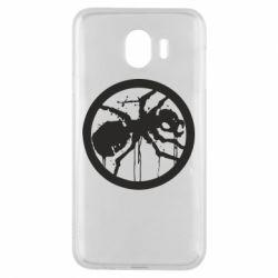 Чехол для Samsung J4 Жирный муравей