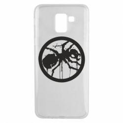 Чехол для Samsung J6 Жирный муравей