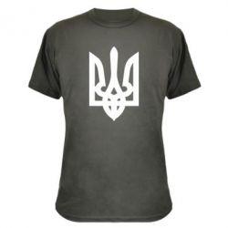 Камуфляжная футболка Жирный Герб Украины