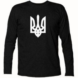 Футболка с длинным рукавом Жирный Герб Украины