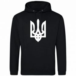 Мужская толстовка Жирный Герб Украины