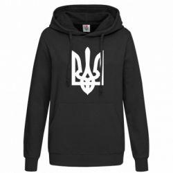 Женская толстовка Жирный Герб Украины