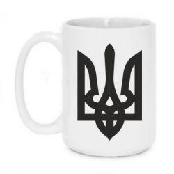 Кружка 420ml Жирный Герб Украины - FatLine