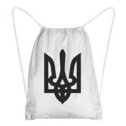 Рюкзак-мешок Жирный Герб Украины - FatLine