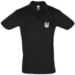 Футболка Поло Жирный Герб Украины