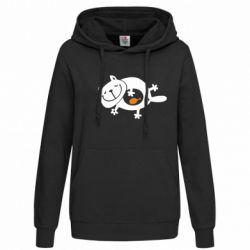 Женская толстовка Жирный кот - FatLine