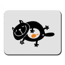 Коврик для мыши Жирный кот - FatLine