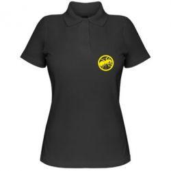 Женская футболка поло Жирный муравей