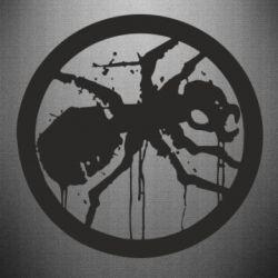 Наклейка Жирный муравей