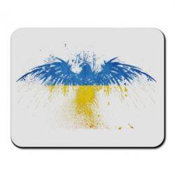Коврик для мыши Жовто-блакитний птах - FatLine