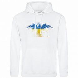 Мужская толстовка Жовто-блакитний птах - FatLine